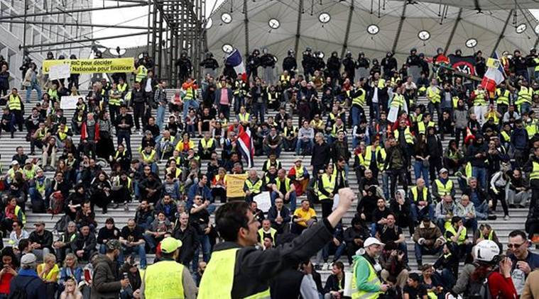 France Braces For Yellow Vest Protests With Thousands Of Police