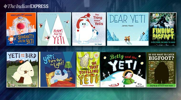 yeti, bigfoot, abomniable snowman, childrens books