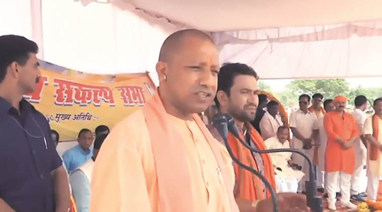 Sp-bsp Made Azamgarh A Terror Hub, Tried To Defame It: Yogi Adityanath