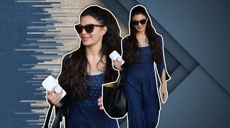 Jacqueline Fernandez looks summer ready in this blue kurta; see pics