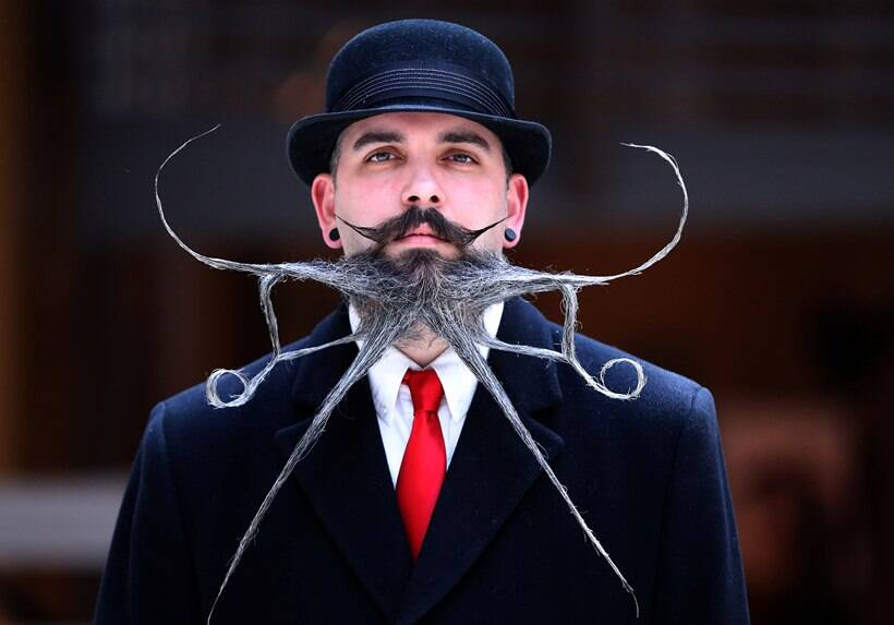 Photos from World Beard and Moustache Championships 2019