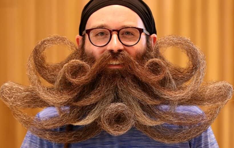 Beard, Moustache, Championships, Antwerp, Belgium, competition, indian express
