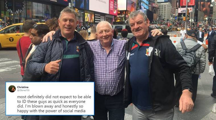 New Jersey, men without phones, men without phones viral picture, Irish men viral picture, viral photos,