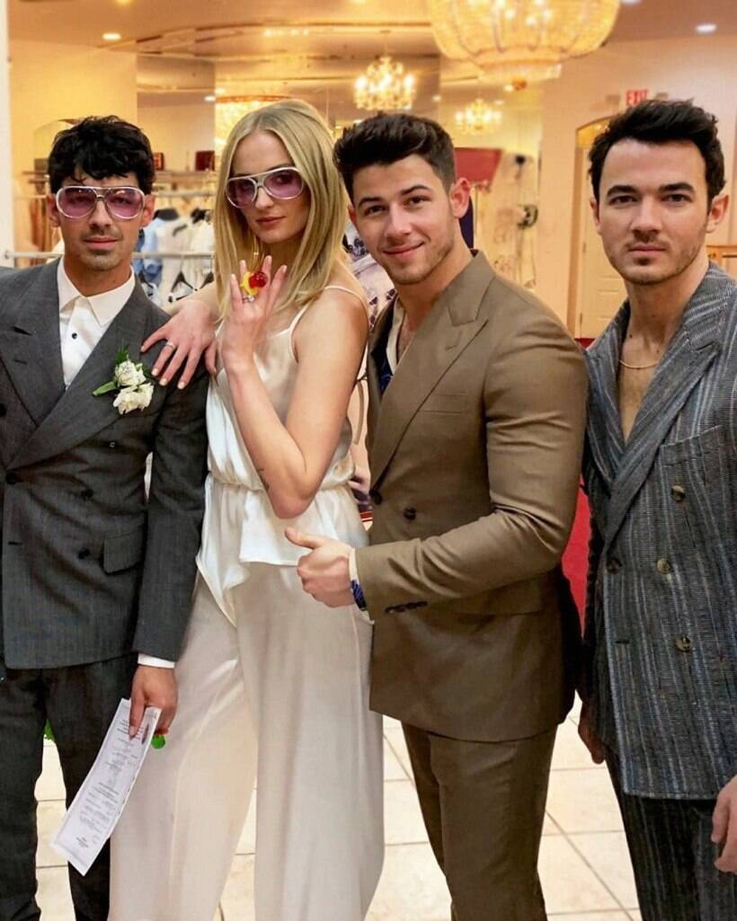 Sophie Turner Wedding.Sophie Turner And Joe Jonas Love Story In Photos Entertainment