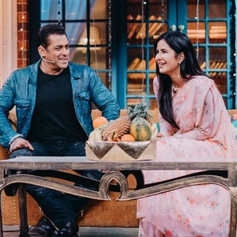 Katrina Kaif and Salman Khan promote Bharat on The Kapil Sharma Show