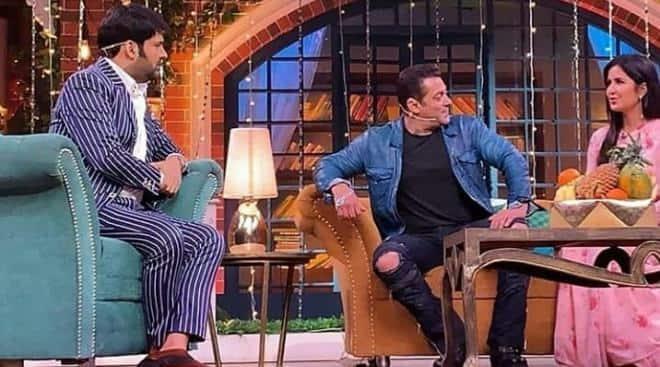 Salman Khan and Katrina Kaif promote Bharat on The Kapil