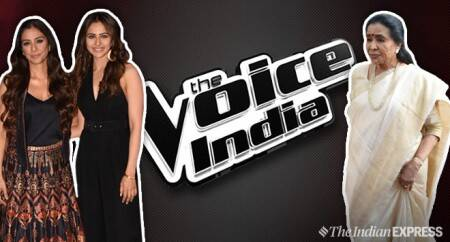 The Voice finale with Asha Bhosle