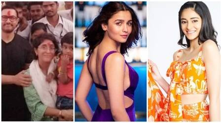Aamir Khan, Alia Bhatt, Ananya Panday photos of the day