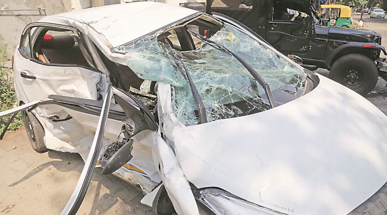 chandigarh, chandigarh news, Chandigarh road accident, road accident Chandigarh,