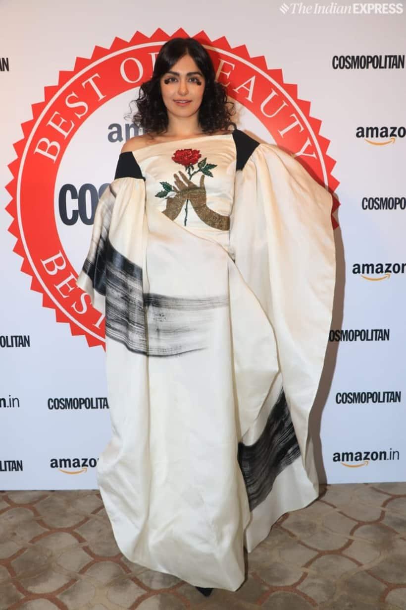 adah sharma at Cosmopolitan Beauty Awards 2019