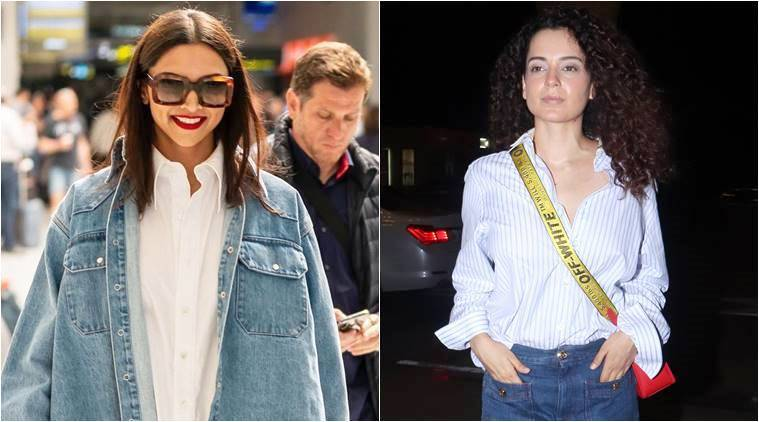 Deepika Padukone, Kangana Ranaut and more: Best airport looks of the week