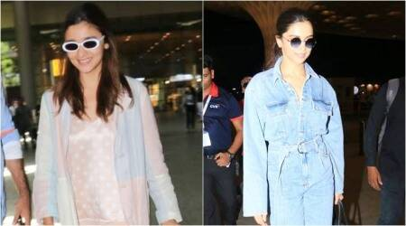 Alia Bhatt, Deepika Padukone, airport fashion, celeb fashion, Met Gala 2019, indian express, indian express news