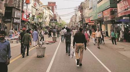 Only feet, no wheels: Karol Bagh stretch gets makeover