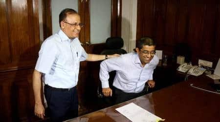 Ajoy Mehta takes charge as Chief Secretary of Maharashtra