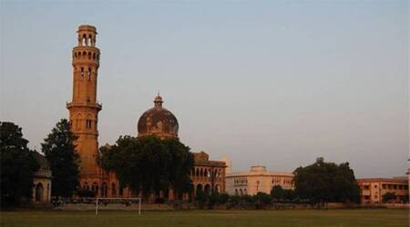 Allahabad University, nsui leader gets notice, lucknow news,