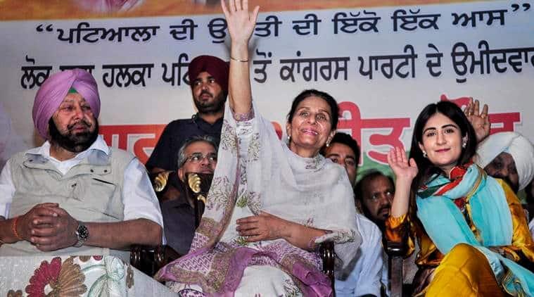captain amarinder singh interview with indian express on lok sabha elections, congress, punjab