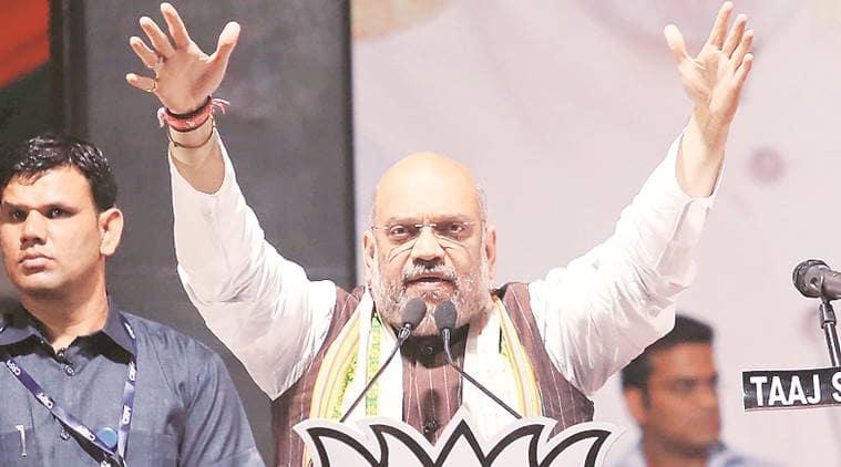 Amit shah, amit shah jadavpur rally, west bengal government, mamata banerjee, lok sabha elections 2019, indian express, india news