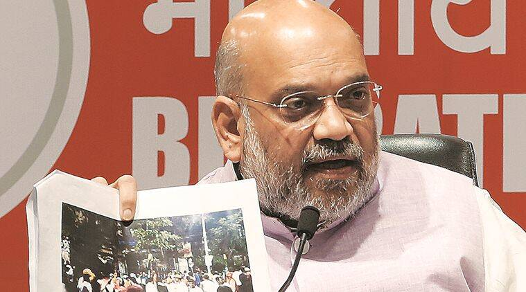 Hours Earlier Amit Shah Questioned Ec Neutrality Said It