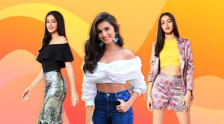 Ananya Panday, Ananya Panday latest photos, Ananya Panday photos, Ananya Panday instagram, Tiger Shroff, Ananya Panday, Tara Sutaria, The Jawaani song launch, The Jawaani song, Student of the Year 2, SOTY2