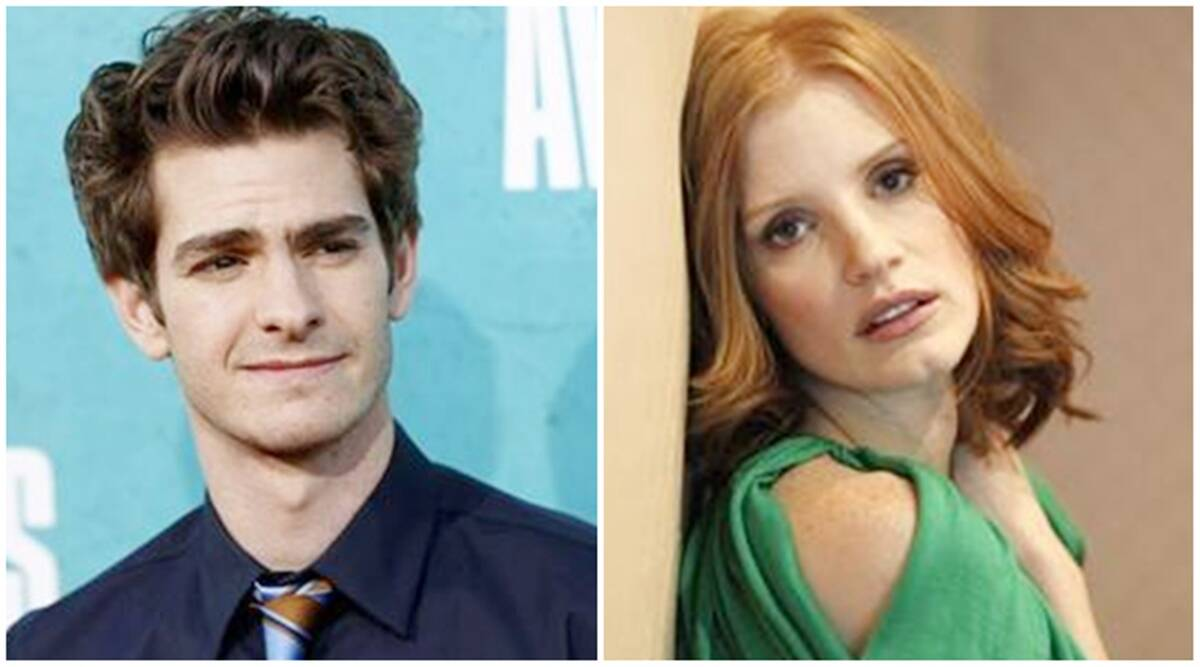 Andrew Garfield Jessica Chastain To Star In Tammy Faye Biopic Entertainment News The Indian Express