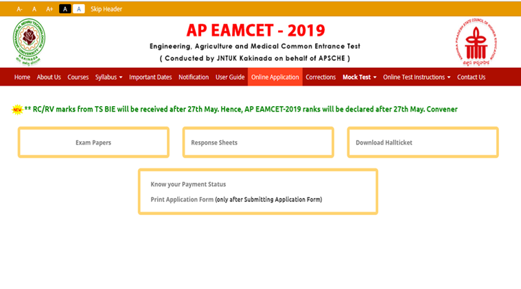 EAMCET Result 2019: TS, AP EAMCET Result expected to be released soon on eamcet.tsche.gov.in, sche.ap.gov.in