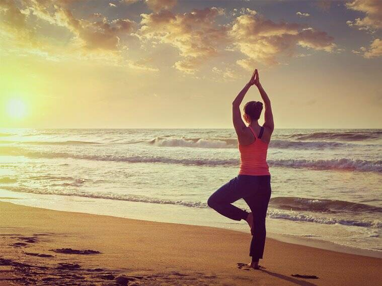 yoga, yoga posa, yoga asana, health, indian express
