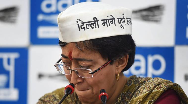 Atishi Marlena smear note: Vendor says was paid to place 300 in papers