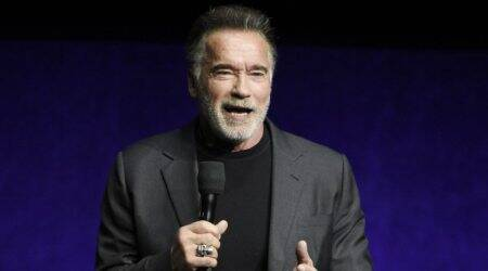 Arnold Schwarzenegger kicked in South Afrixa