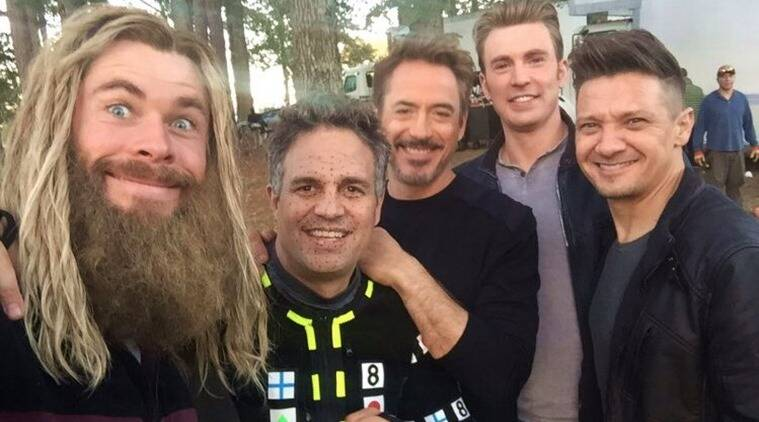 avengers endgame behind the scenes photos