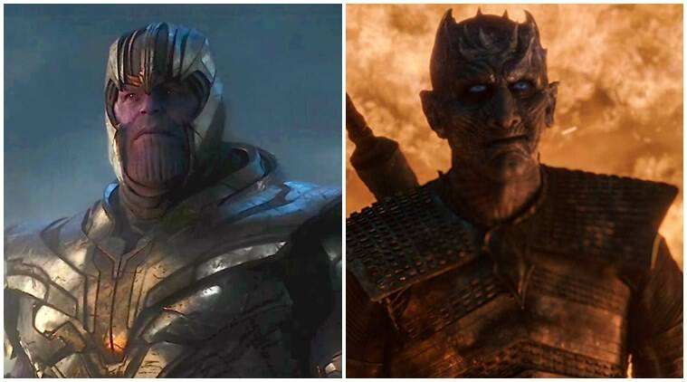 Avengers endgame and Game of Thrones