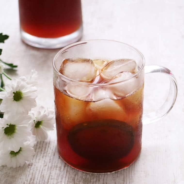 refreshing beverages, juce, packaged drink, sugar content, cold pressed juices, Chef Manish Kusumwal, Keys Hotels, Fresh bael fruit cooler , Bael , Bael juice, Bael fruit iced tea, indian express, indian express news