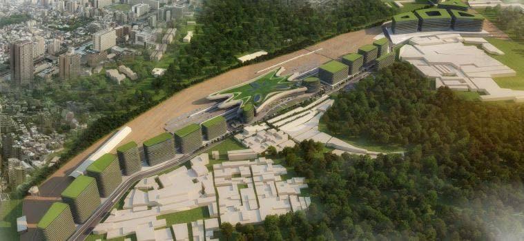 Baiyappanahalli Station-Aerial-View