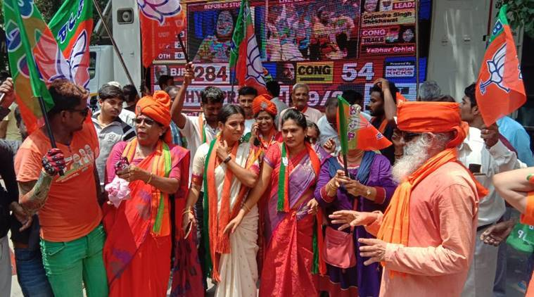 Bangalore-BJP-Bengaluru-Office-celebrations-lok-sabha-elections-2019