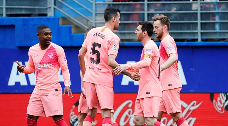 Lionel Messi increases goal haul as Barcelona draw with Eibar