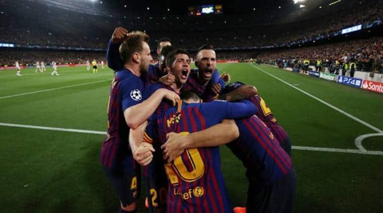 Lionel Messi, Barcelona, Barcelona Lionel Messi, Champions league 2019, 2019 champions league, Barcelona vs Liverpool, Messi, Lionel Mess Liverpool, football news, indian express, latest news
