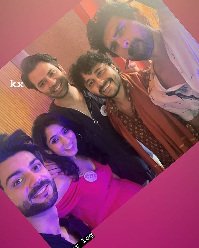 Barun Sobti, Pashmeen Manchanda baby shower inside photos