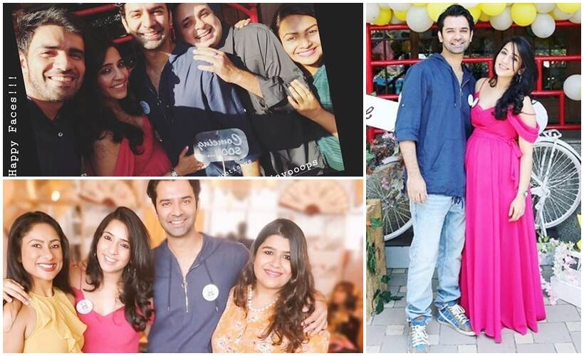 Barun Sobti wife Pashmeen Manchanda baby shower inside photos