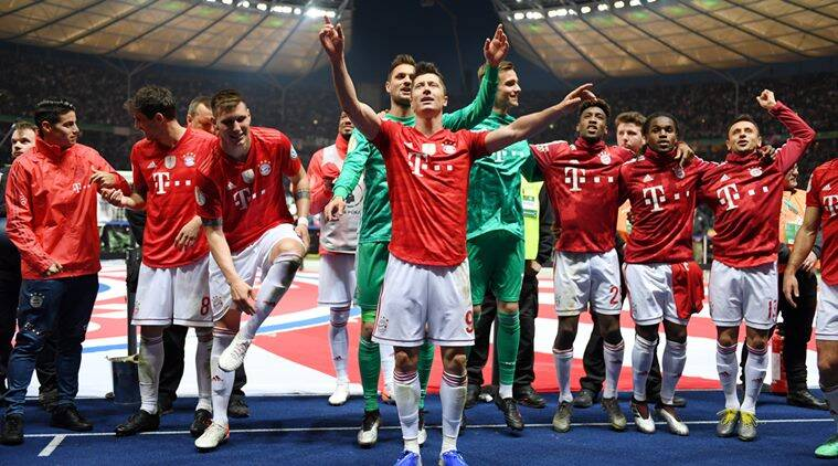 Bayern Munich beat Leipzig 3-0 in German Cup final to seal double