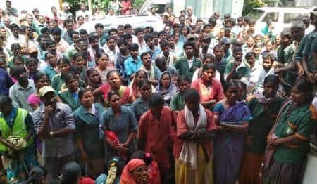BBMP-Bangalore-powrakarmikas-protest