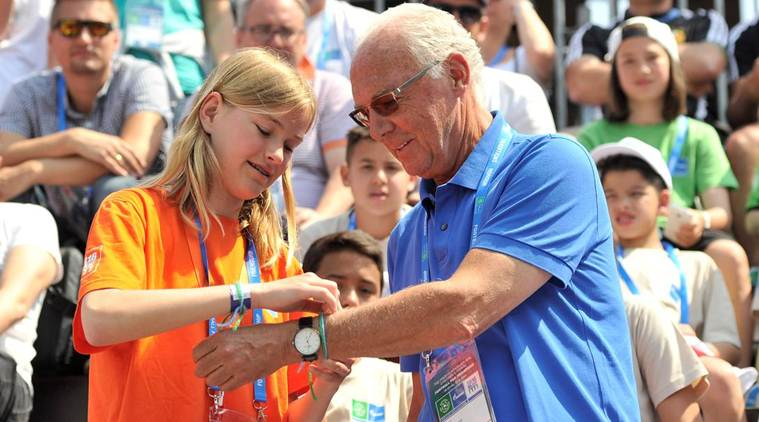 Beckenbauer named Football for Friendship ambassador