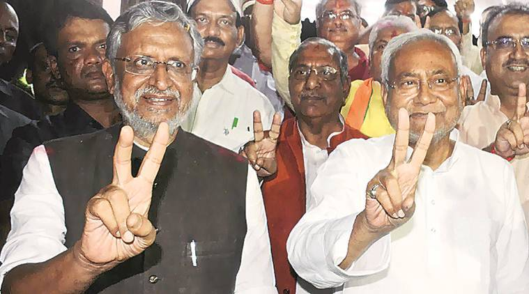 Sushil Modi dismisses reports of strain, says Bihar polls will be fought under Nitish Kumar's leadership