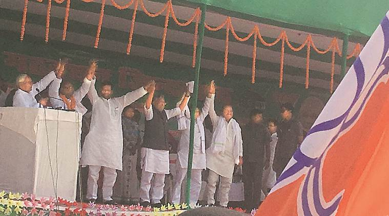 Don't let Bihar slide into the past: NDA leaders to voters