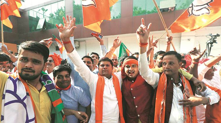 Lok Sabha election results: BJP won 303 seats, was main contender in another 72