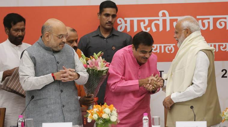 PM Modi, Amit Shah meet Union ministers to thank them for 'service to nation'