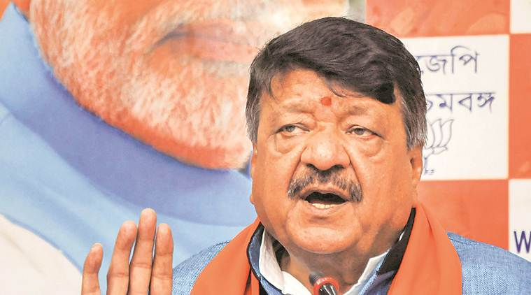 bjp, bharatiya janata party, kailash vijayvargiya, bjp general secretary, bjp general secretary kailash vijayvargiya, tmc, trinamool congress, west bengal government, india news, Indian Express