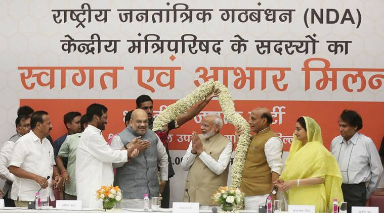 Aabhar Milan: PM Modi, Amit Shah host dinner, thank NDA allies