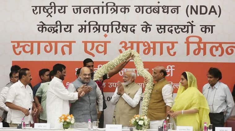 Aabhar Milan: PM Modi, Amit Shah host dinner, thank NDA allies
