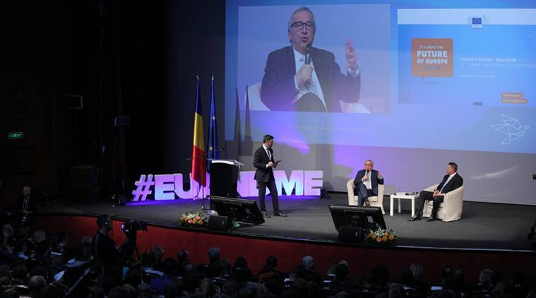 Damaged by Brexit, EU heads meet in Romania to chart bloc's next steps
