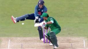 Watch: Jos Buttler pulls off a lucky Dhoni-esque run out to stun Sarfraz Ahmed