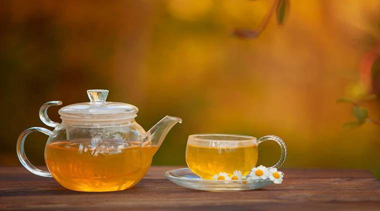 Chamomile Tea, benefits of chamomile, camomile, indianexpress.com, lifestyle, chamomile infusion, period pain, PMSing, relaxes uterus